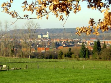 Aan de horizon de Kesselberg