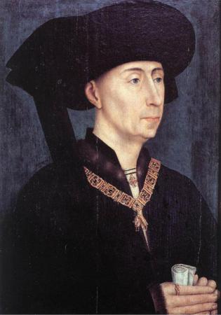 Filips de Goede hertog van Bourgondië. Rogier van der Weyden