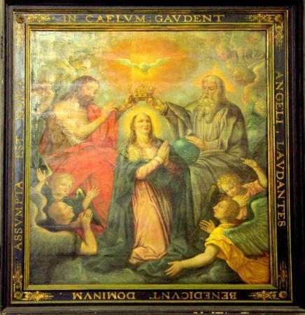 Kroning van Maria door de Triniteit