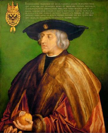 Maximiliaan van Oostenrijk door A. Durer.
