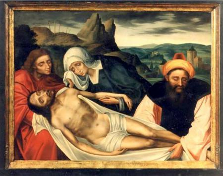 De Bewening van Christus door Quinten Metsys