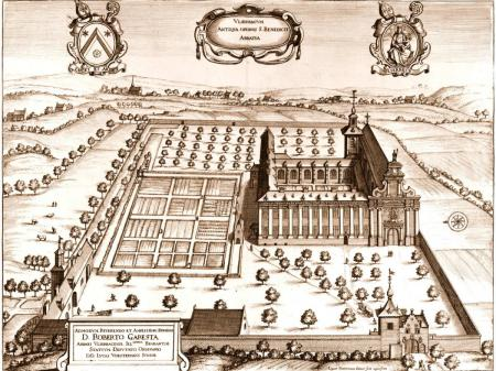 Ets door Lucas Vorstermans de Jongere in Sanderus Chorgraphia sacra Brabantiae , Brussel 1659