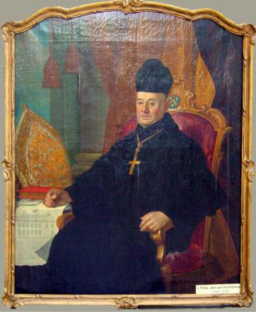 Abt Leonardus Lenaerts. Pastorij Vlierbeek © Kerkfabriek O.L.V. Vlierbeek.