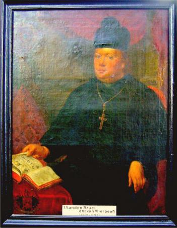 Abt Vanden Bruel 1772-1762. Pastorij Vlierbeek.