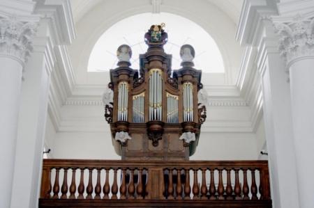 Bespeling van het Le Picard orgel van vlierbeek