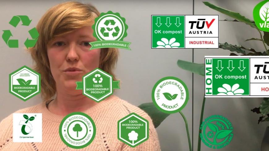 Waarom bioplastics niet bij het gft-afval kunnen