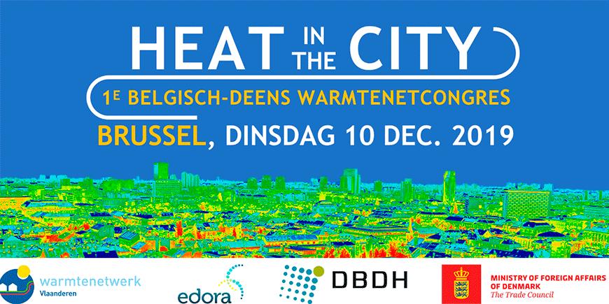 Eerste Belgisch-Deens warmtenetcongres 10 december 2019