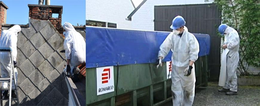 Pilootproject asbestverwijdering en dakisolatie woonwijk De Hutte