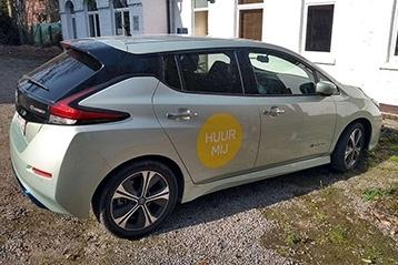 Elektrische deelwagen in Wijgmaal (Leuven)