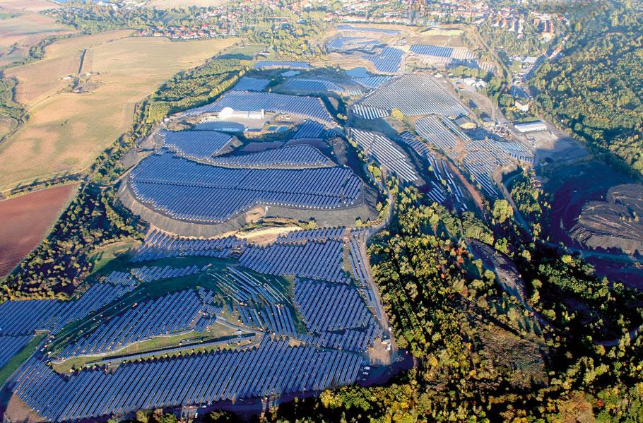 Hernieuwbare energie vreet ruimte