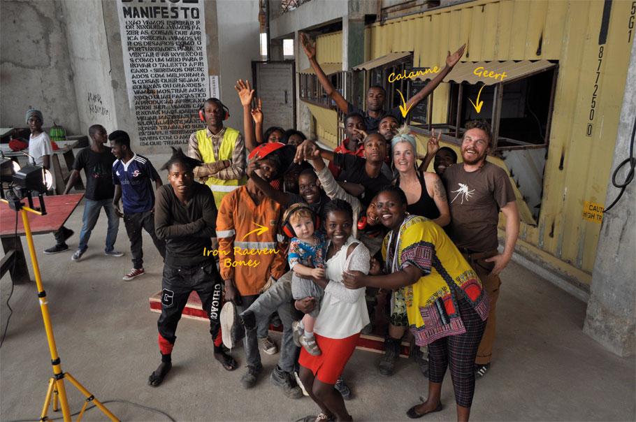 Met de Mobiators in Zuid-Afrika