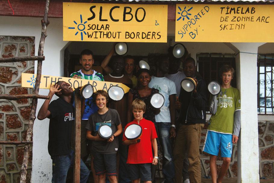 Licht in de duisternis van Sierra Leone