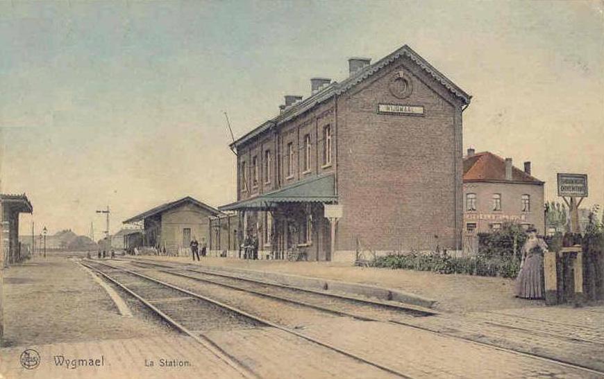 Het station van Wijgmaal, ons nieuwe kantoor