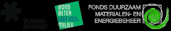 Provincie Vlaams-Brabant, Bond Beter Leefmilieu, Fonds Duurzaam Materialen- en Energiebeheer