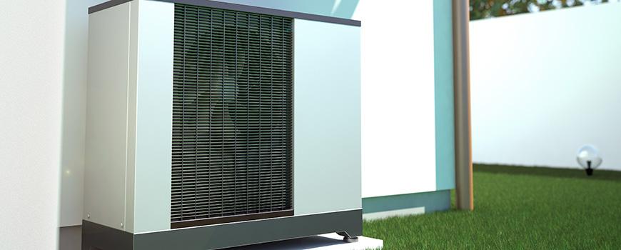 Warmtepomp voor woningverwarming